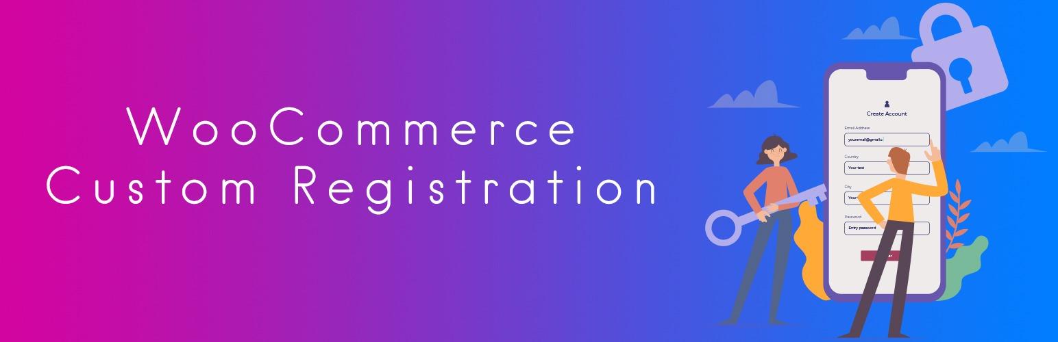 Woocommerce Custom Registration