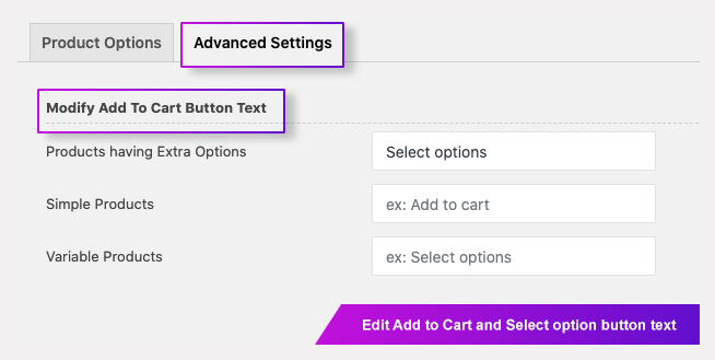 Extra Product Options (Product Addons) for WooCommerce