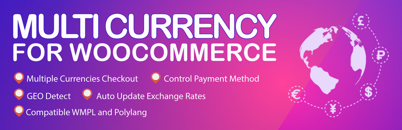Multi Currency for WooCommerce – The best free currency