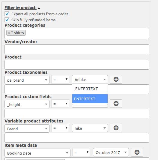 Advanced Order Export For WooCommerce – WordPress plugin | WordPress org
