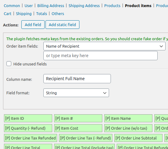Advanced Order Export For WooCommerce – WordPress plugin