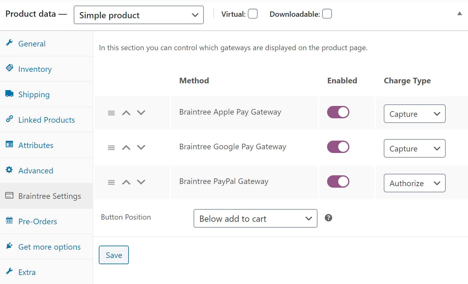 Braintree For WooCommerce – WordPress plugin | WordPress org