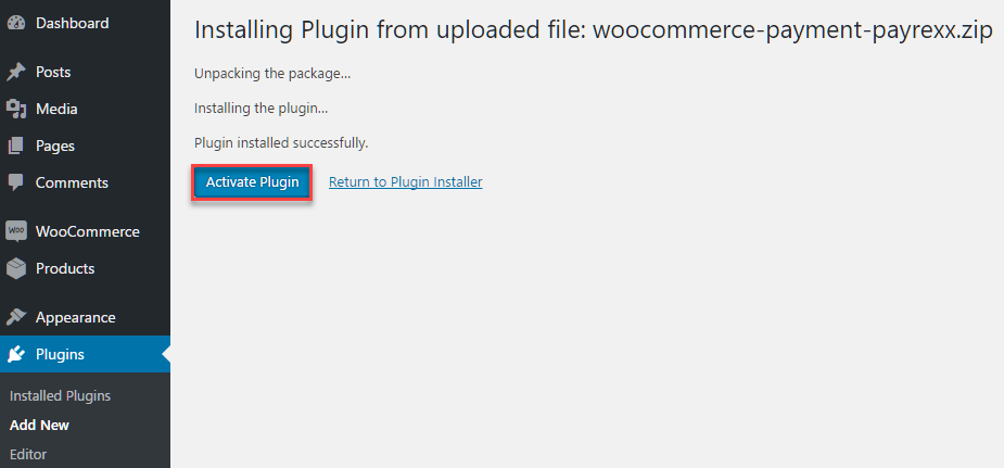 WooCommerce Payrexx Payment Gateway