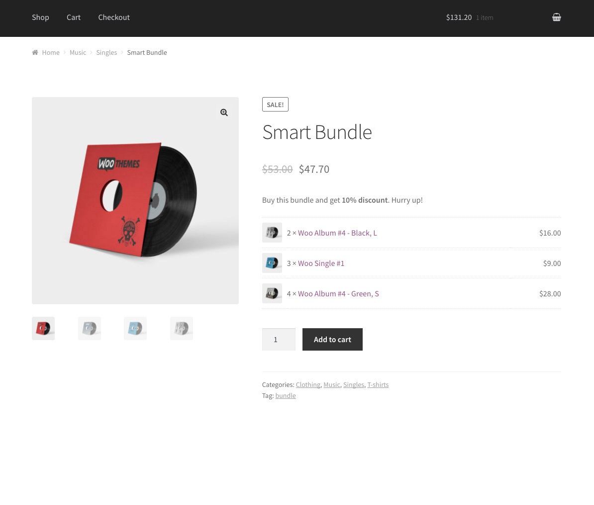 WPC Product Bundles for WooCommerce – WordPress plugin