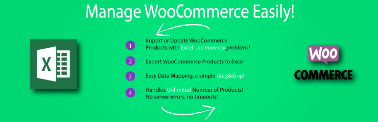 WordPress Product Excel Import & Export for WooCommerce
