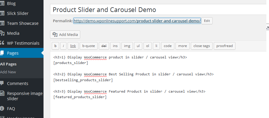 Product Slider and Carousel with Category for WooCommerce