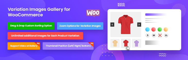 WooCommerce Product Variation Gallery