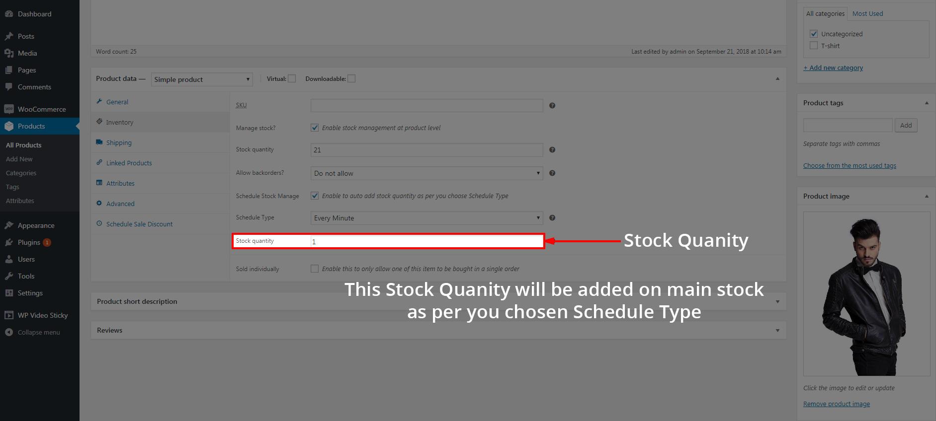 Stock Quantity