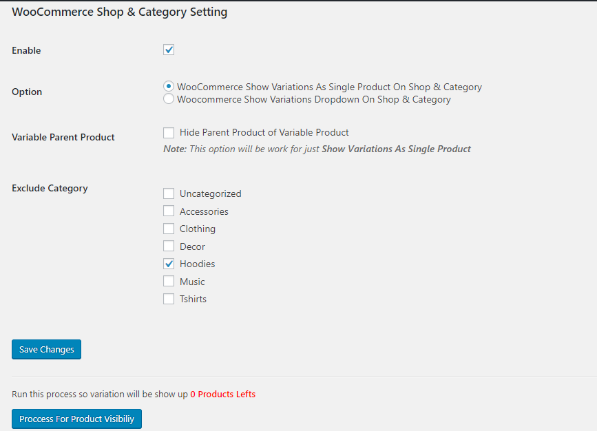 Show Variations On Shop & Category WooCommerce