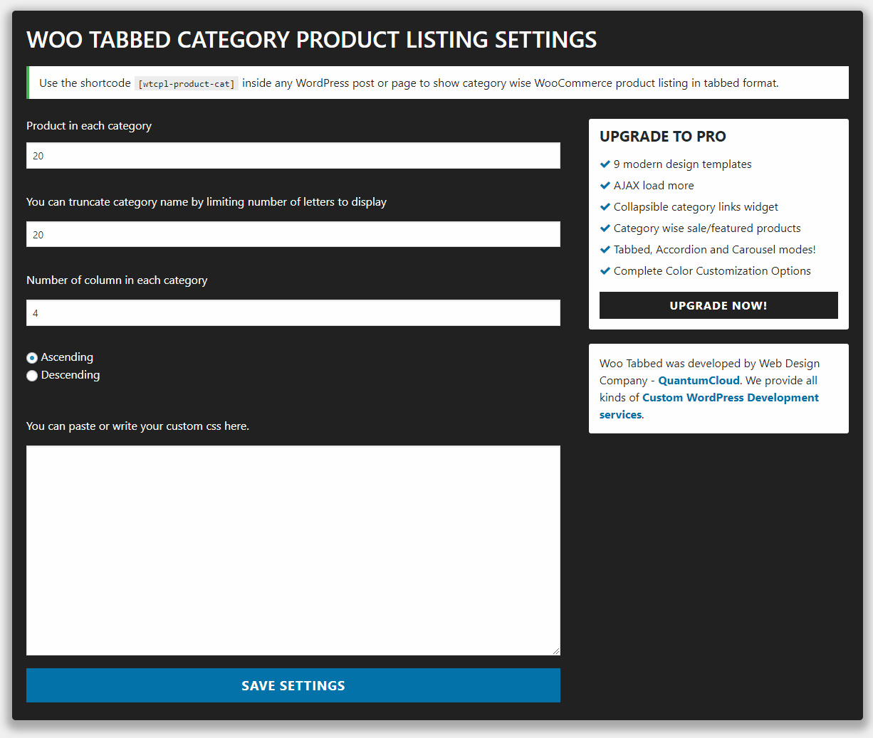 woo tabbed category product listing wordpress org