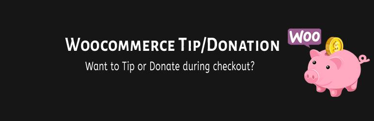 Woocommerce Tip/Donation