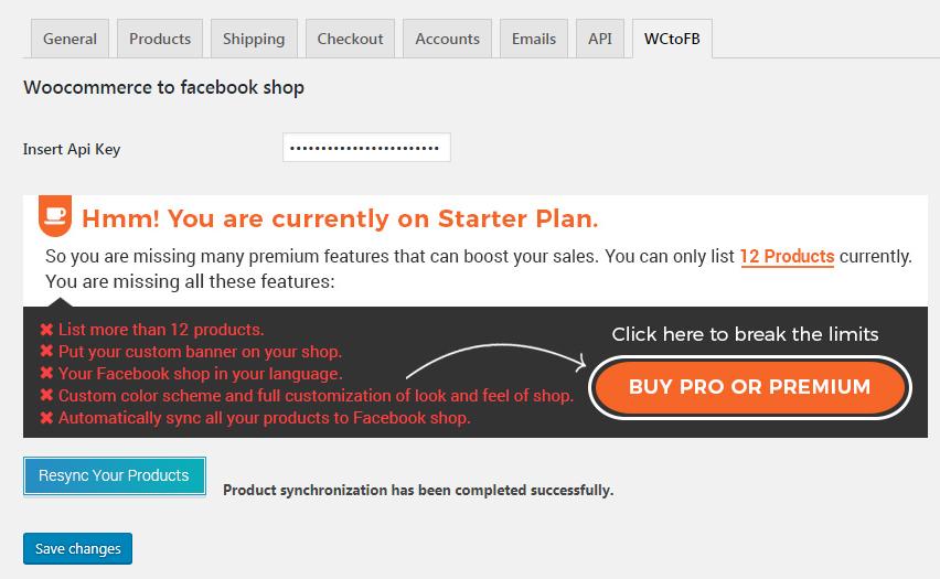 WooCommerce to Facebook shop – Plugin WordPress | WordPress org