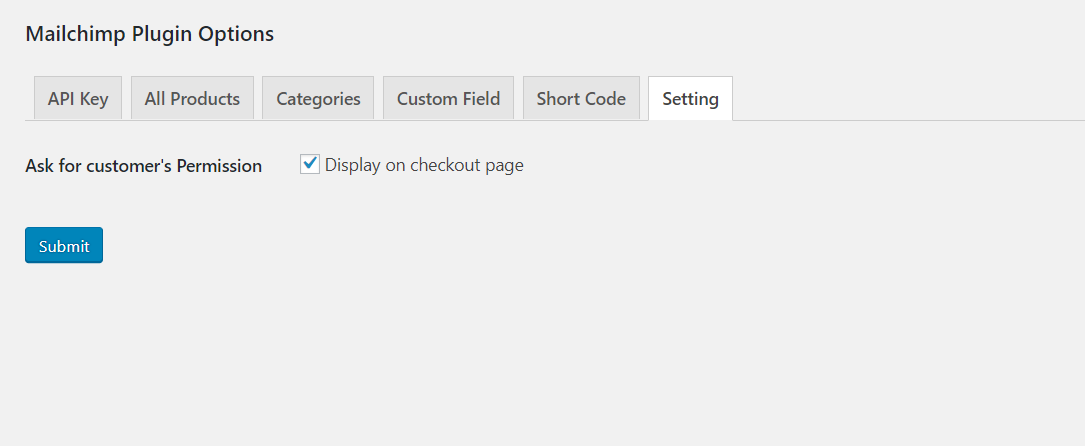 Here you can set subscription option in checkout page.