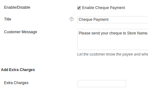 WooCommerce Add Charges To Payment Gateway
