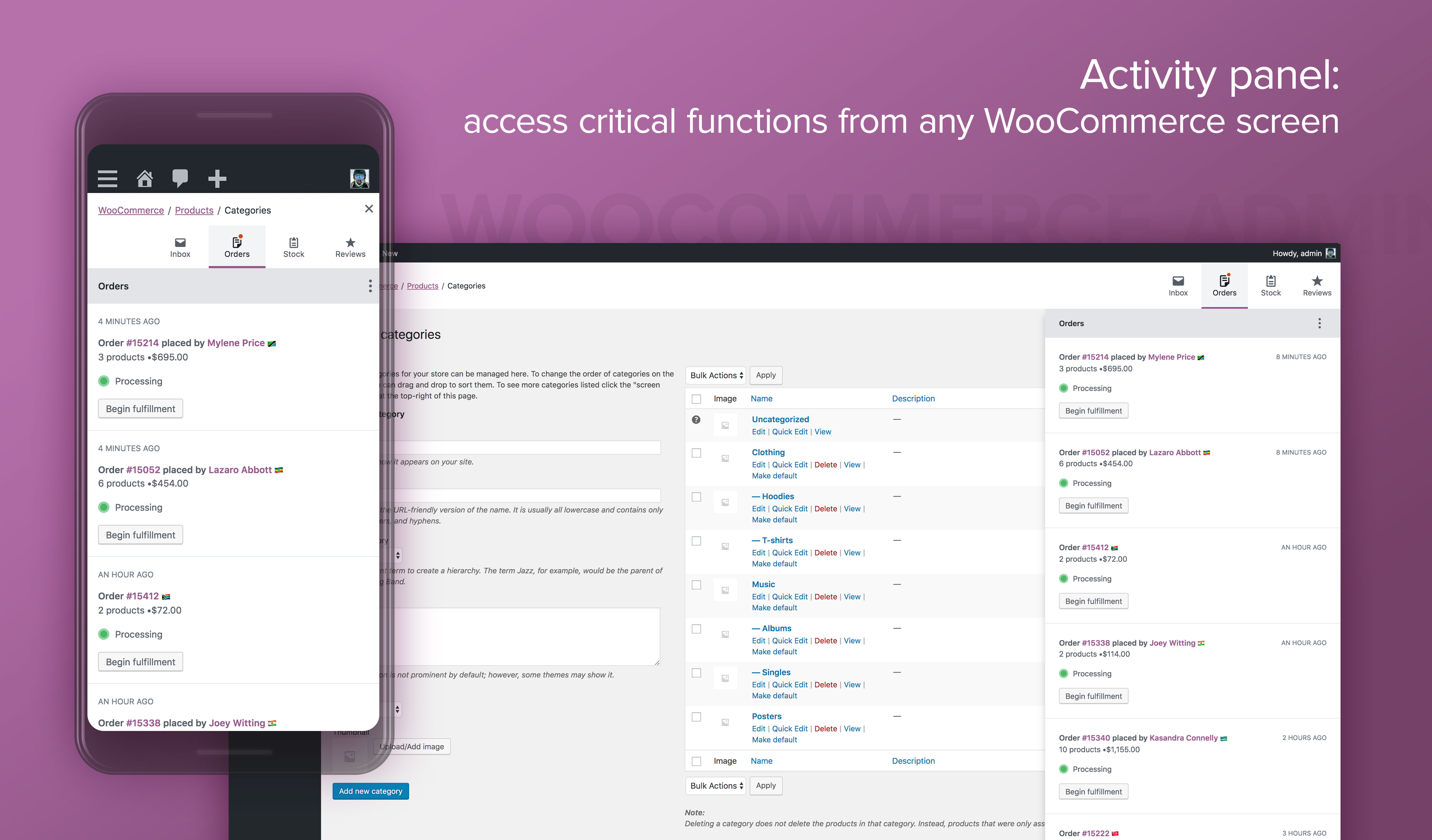 WooCommerce Admin – WordPress plugin | WordPress org