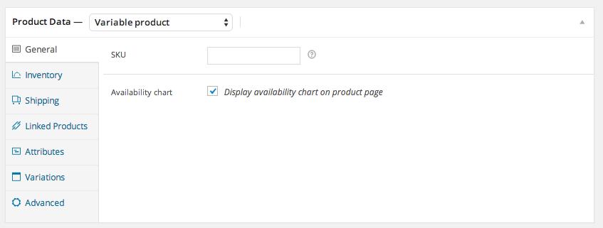 Product data tab