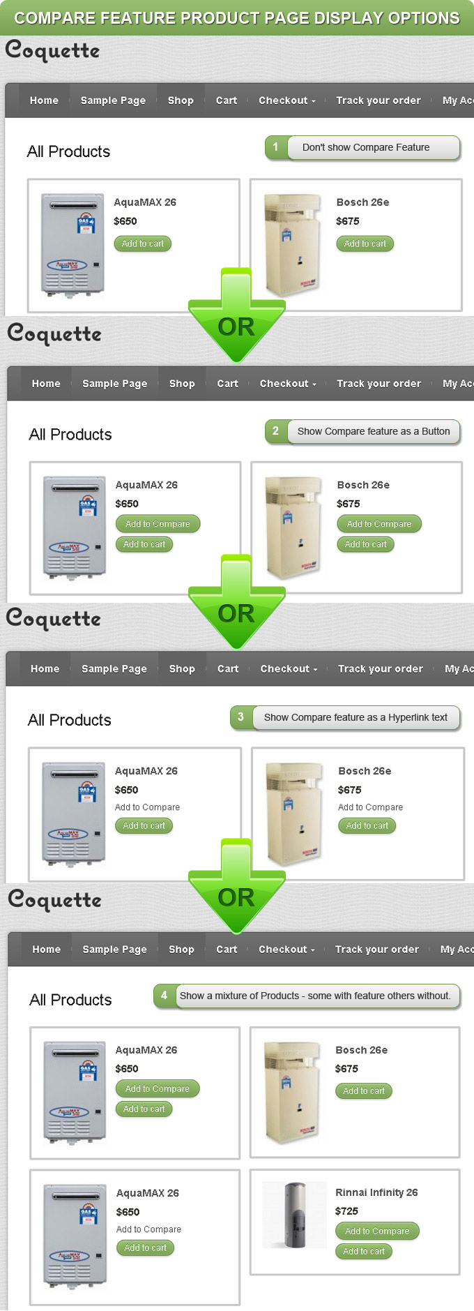 woocommerce-compare-products screenshot 3