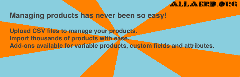 Woocommerce CSV importer