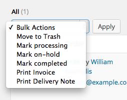 Bulk print orders.