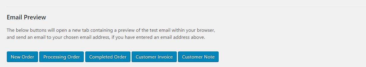 WooCommerce Email Test WordPressorg - Open invoice testing