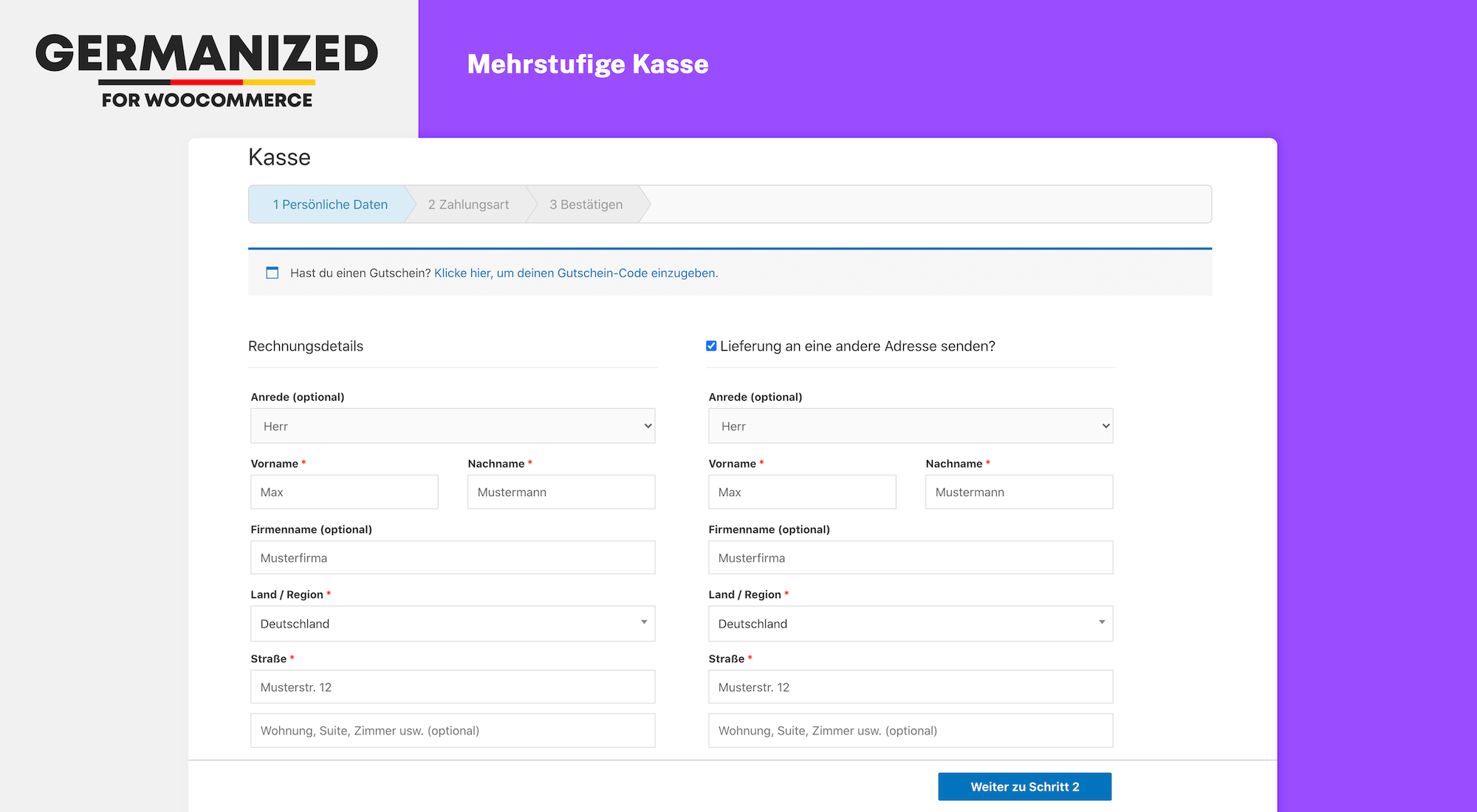 WooCommerce Multistep Checkout (Pro)