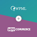 WooCommerce Multilingual – run WooCommerce with WPML logo