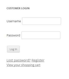 woocommerce-my-account-widget screenshot 2