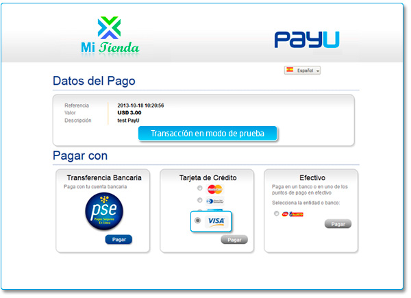 PayU Latam - Payment Platform