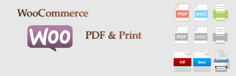 WooCommerce PDF & Print