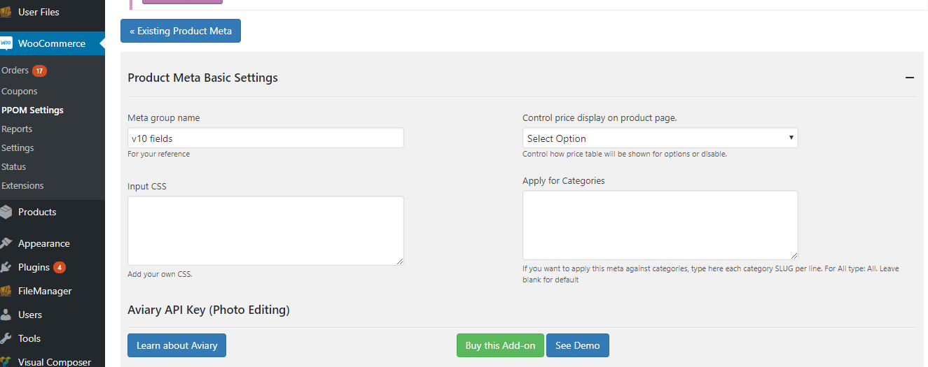 Remove Woocommerce Product Addons Addons Min Js Script From Output