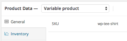 Automatic SKU generation upon publish / update