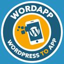 WordApp Mobile App Plugin – Convert your WordPress Site to a Mobile App logo