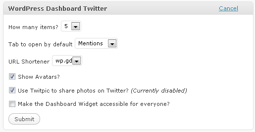 wordpress-dashboard-twitter screenshot 5