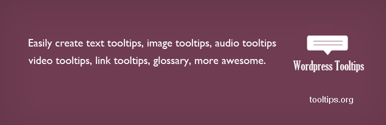 WordPress Tooltips – WordPress plugin | WordPress org