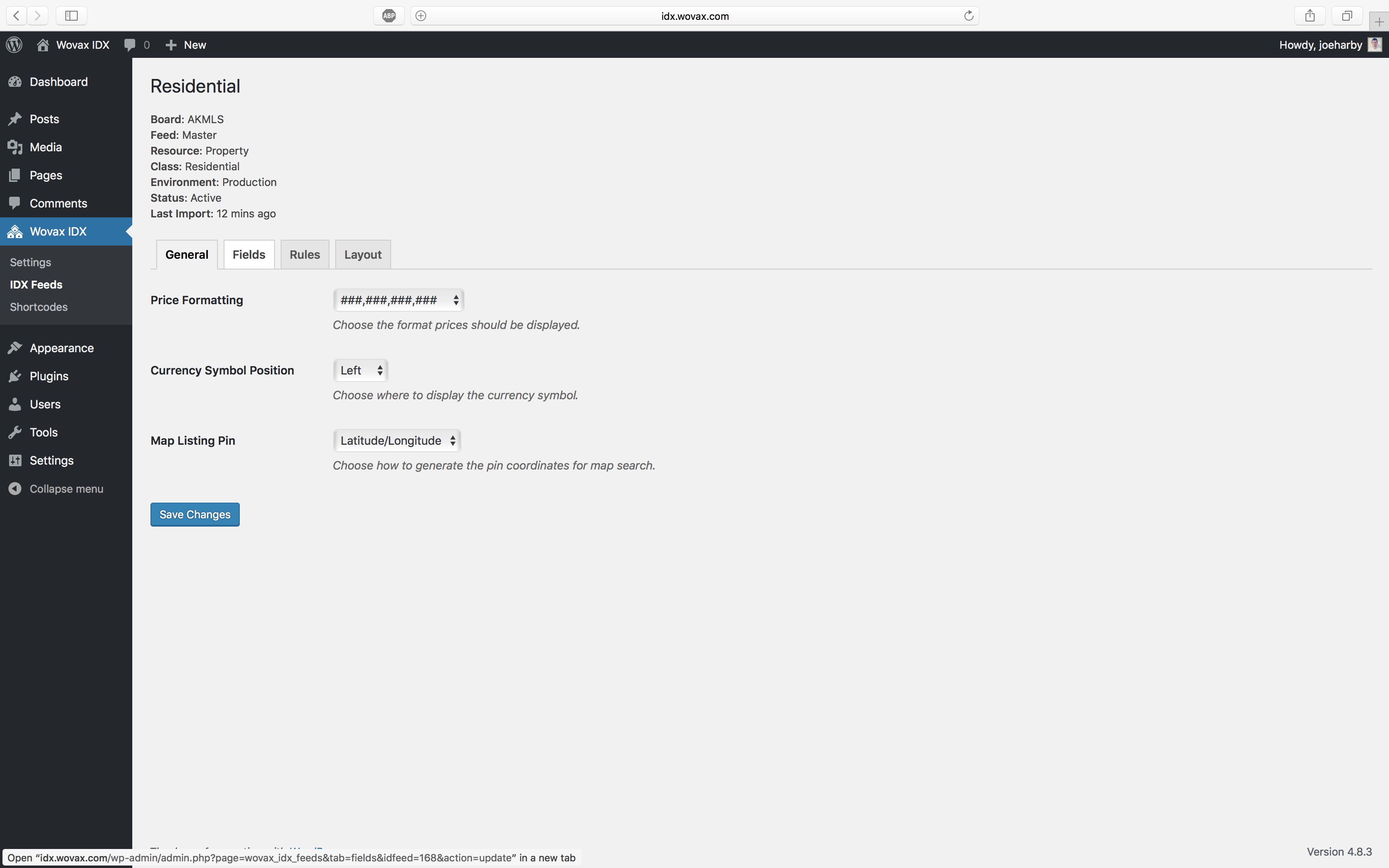 Wovax IDX – WordPress plugin | WordPress org