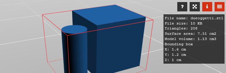 WP 3D Thingviewer Lite