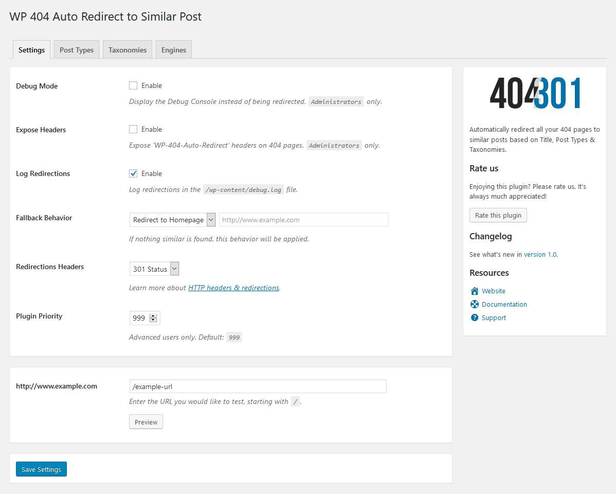 WP 404 Auto Redirect to Similar Post – WordPress plugin   WordPress org
