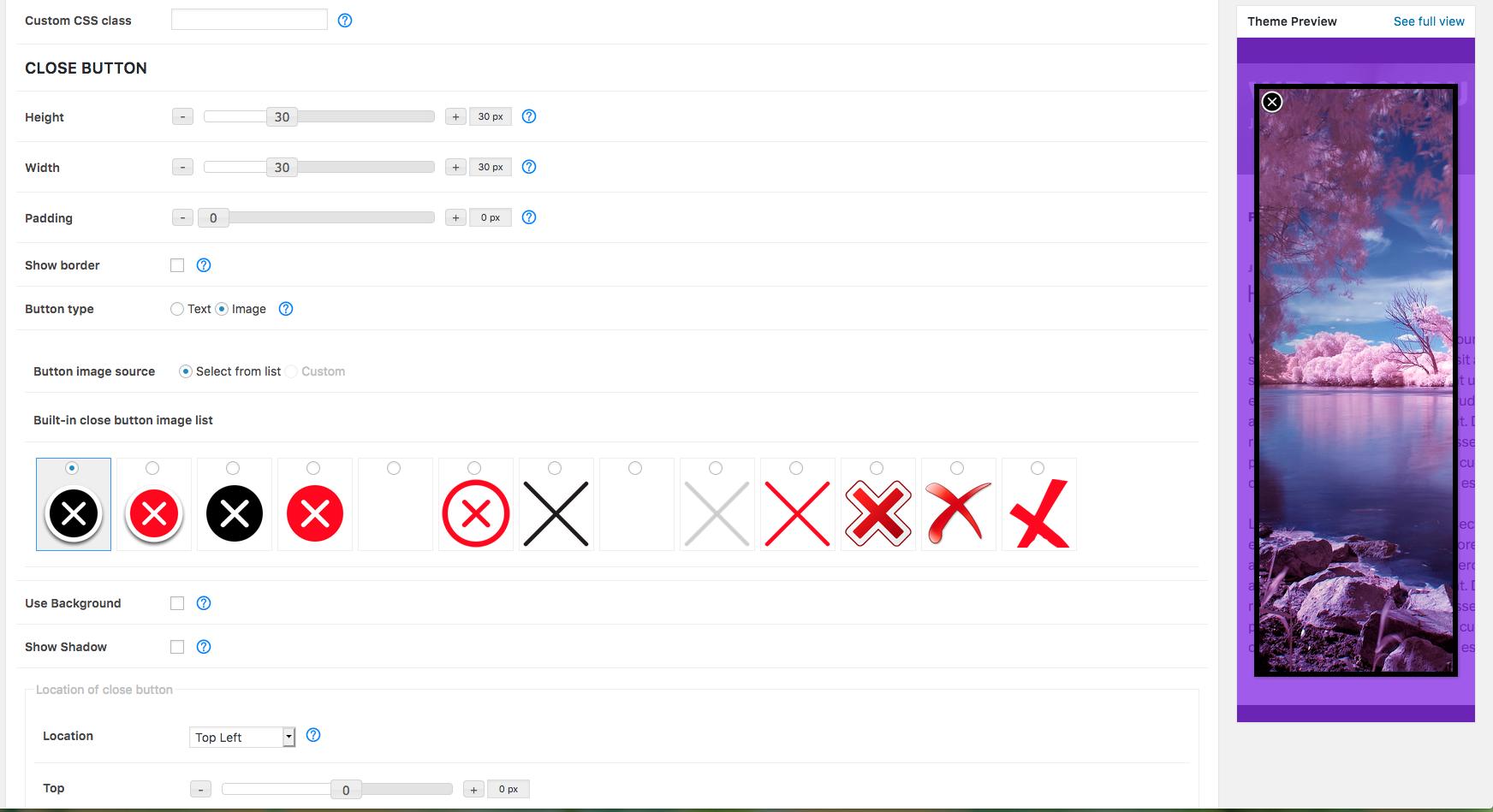Create Custom Popup Theme