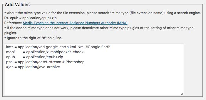 WP Add Mime Types \u2013 WordPress plugin | WordPress.org
