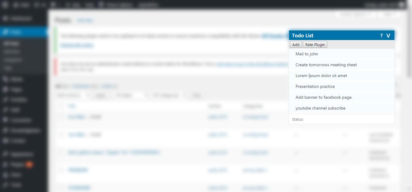 New attractive theme matching to WordPress native layout.