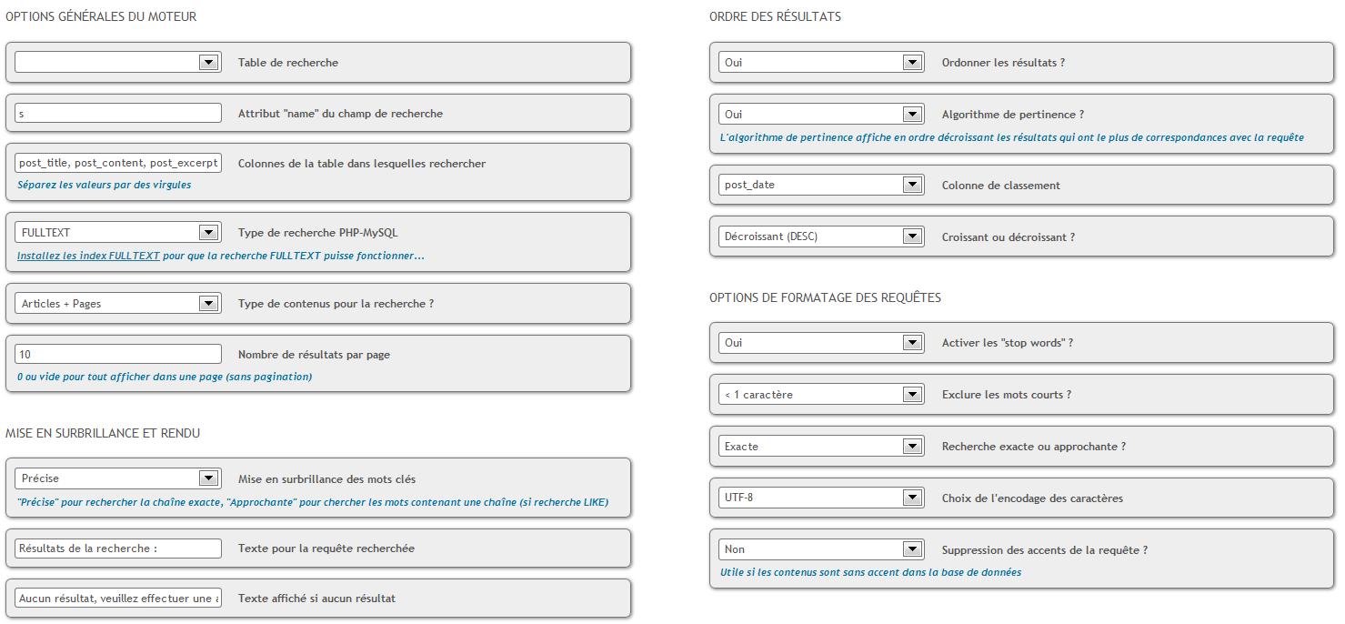 """WP-Planification"" dans le backoffice de WordPress (BackOffice screenshot)."