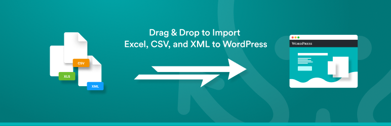 Import any XML or CSV File to WordPress