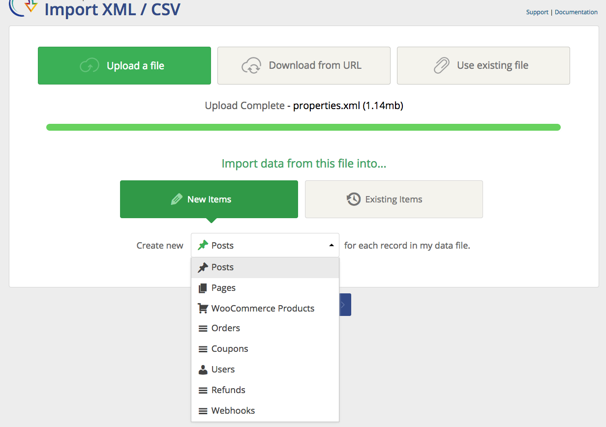 Import any XML or CSV File to WordPress – WordPress plugin