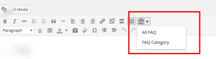 Editor Button FAQ