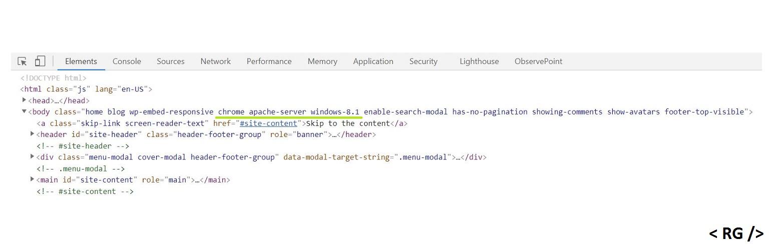 WP Browser/Platform Detection