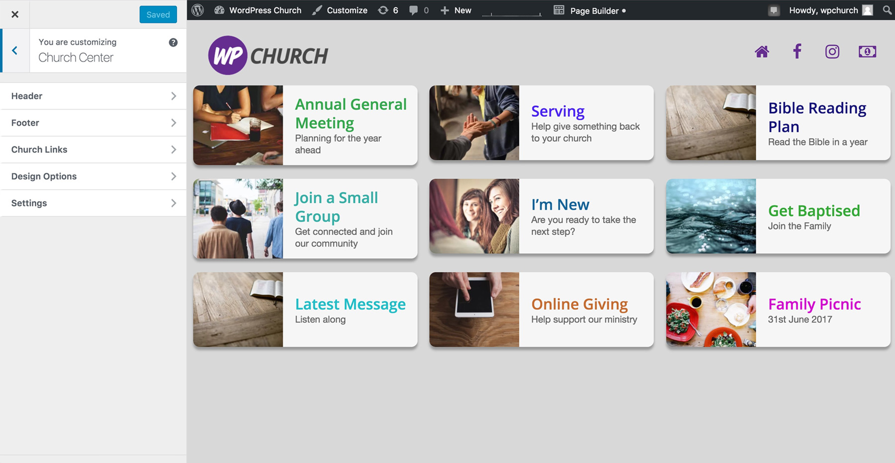 WP Church Center