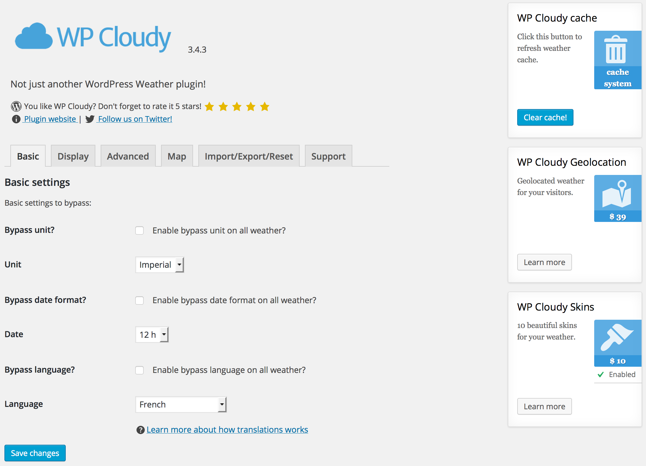 wp-cloudy screenshot 5