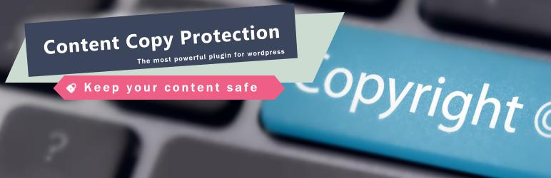 WP Content Copy Protection & No Right Click – WordPress