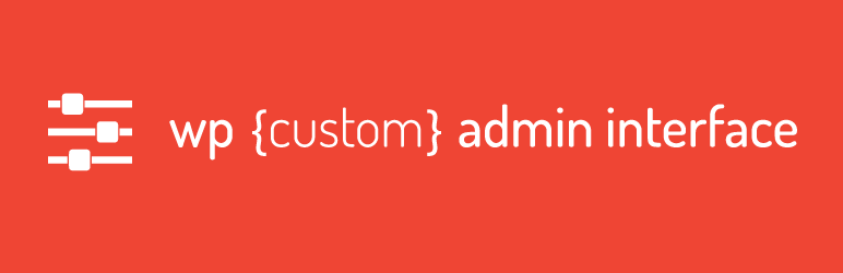 WP Custom Admin Interface