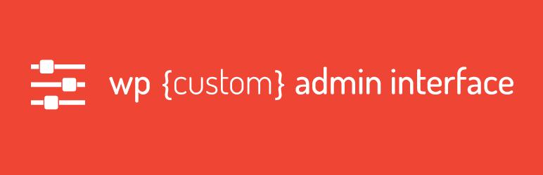 WP Custom Admin Interface